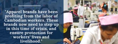 Corona: ook een impact op kledingarbeiders