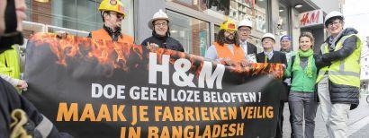 Schone Kleren Campagne blust H&M winkel