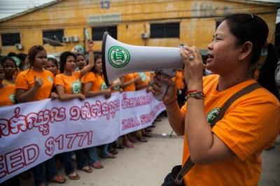 acties Cambodja