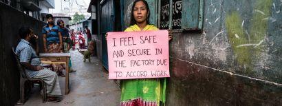 Historisch akkoord over veiligheid kledingwerkers